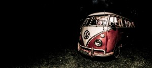 Commercial photography - off camera flash - VW camper